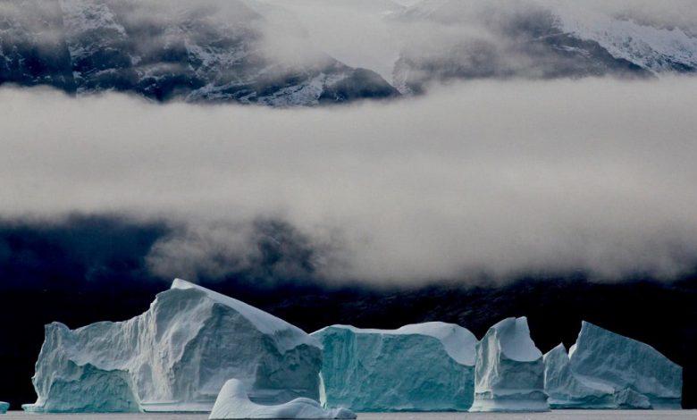 اتفاق نادر بارش باران در بلند ترین نقطه گرینلند به علت تغییرات اقلیمی