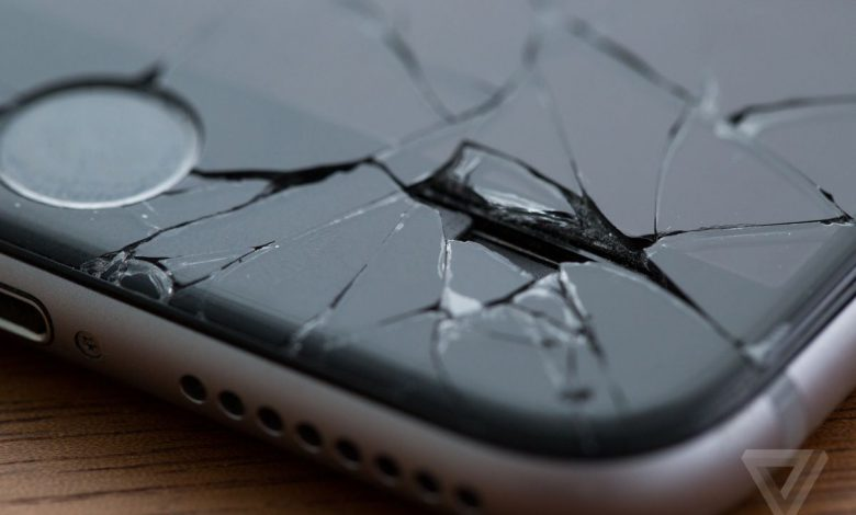 فناوری جدید اپل برای تشخیص خودکار نمایشگر آسیب دیده