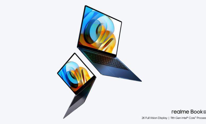 اولین لپ تاپ ریلمی با پردازنده اینتل یازدهم معرفی شد