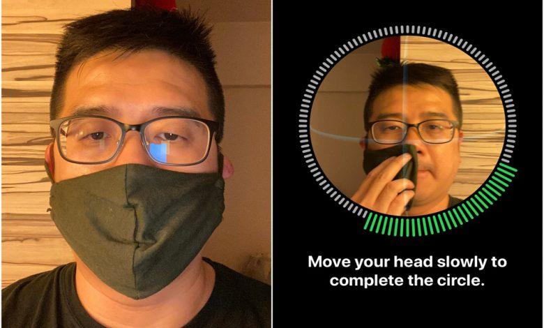 سیستم فیس آیدی جدید اپل میتواند با وجود ماسک هویت کاربران را تایید کند