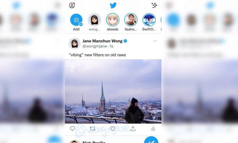 توییتر طراحی نزدیک به لبه برای تصاویر و ویدئوهای تایم لاین را آزمایش می کند