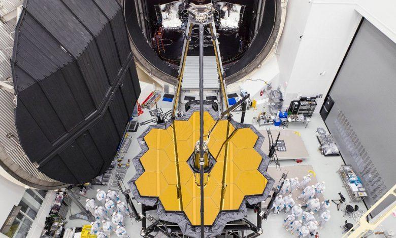 قرارگیری تلسکوپ فضایی جیمز وب در سایت پرتاب آمریکای جنوبی
