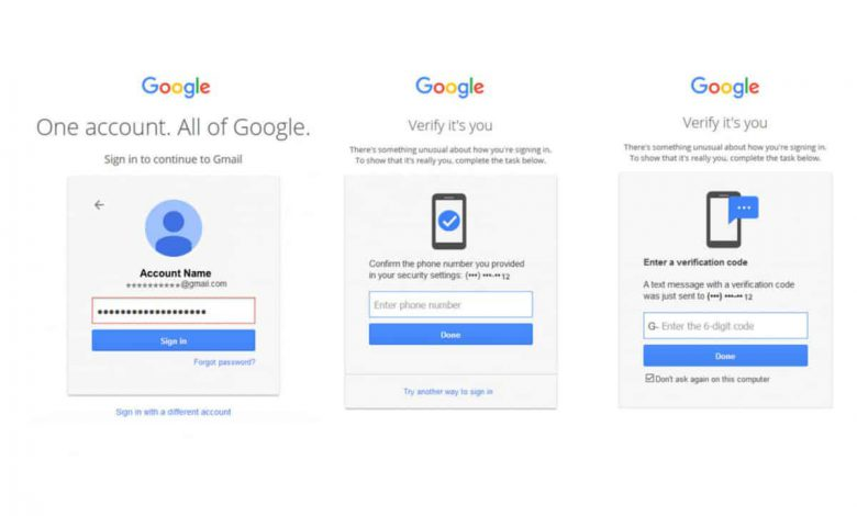 ۱۵۰ میلیون کاربر در گوگل به قابلیت احراز هویت دو مرحله ای دسترسی پیدا می کنند