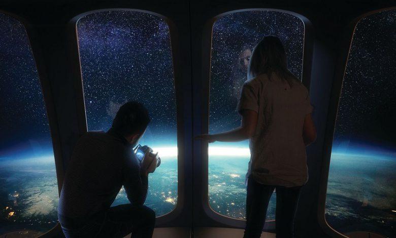 وعده یک شرکت گردشگری فضایی برای سفر به فضا با بالن