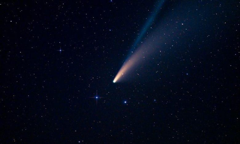 بزرگترین دنباله دار کشف شده در حال حرکت به سمت منظومه شمسی است