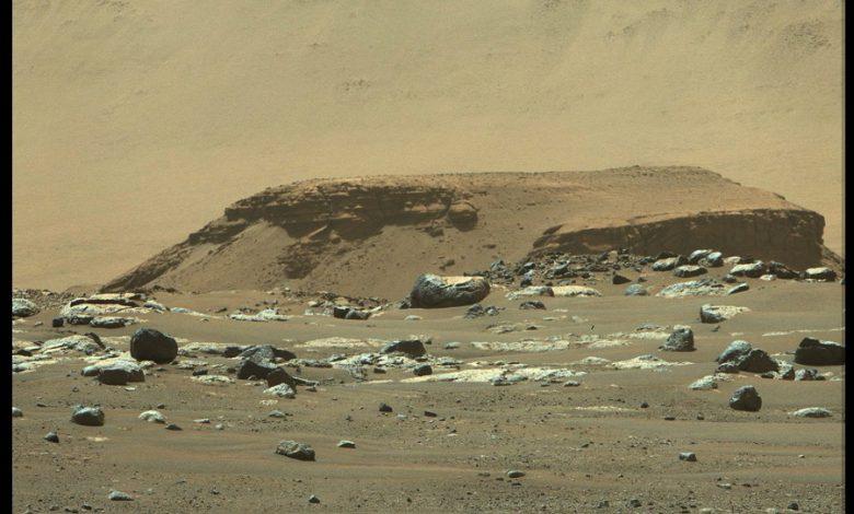 استقامت تصاویری از یک دریاچه باستانی در مریخ ثبت کرد