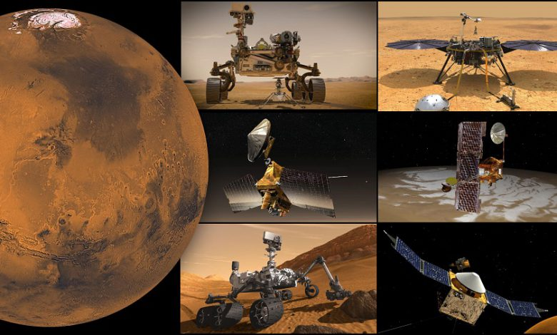 خورشید باعث تعویق پروژه های جاری در سیاره مریخ شد